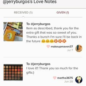 Jeffree Star Makeup - 5 star rated🎉Thank you love my loyal customers💞